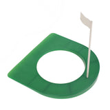 Golf Rubber Putting Cup Device 4 1/4' Hole with Flag