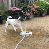 Outdoor Pet Dog Drinking Water Fountain Sprinkler