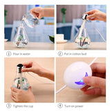 Humidifier for Essential Oils Diffuser - Air Freshener Mist Maker with LED Night Light