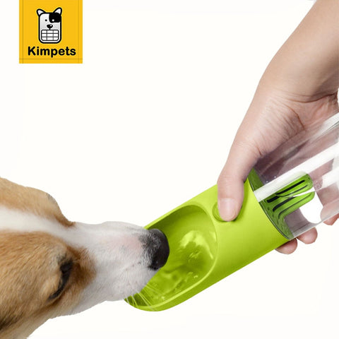400ML Portable Pet Dog Feeding Water Bottle
