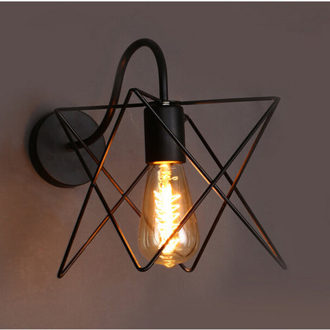 Metal Pomelo Cage Wall Lamp Light Fixture For Indoor Perfect For Bar and Restaurant