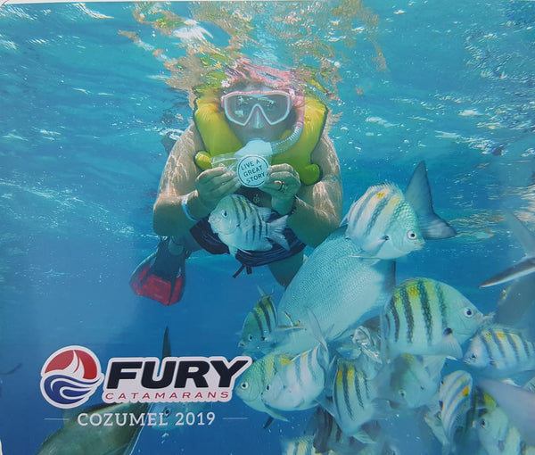 LIVE A GREAT STORY snorkeling with the fish in Mexico