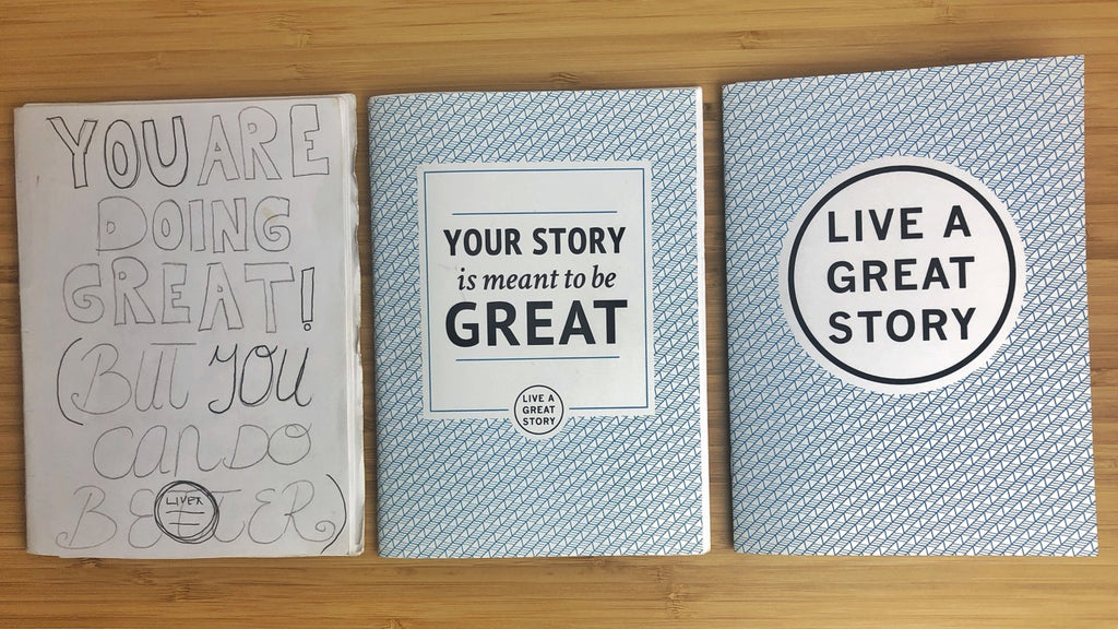 The LIVE A GREAT STORY Guide Kickstarter Launch
