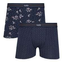 2Pack Cotton Floral Trunks