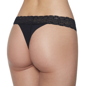 NEW! Seamless Double Lace G-String