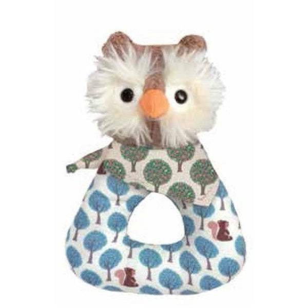 Apple Park Baby Rattle Owl Apple Park Organic Baby Rattle (6 Designs)