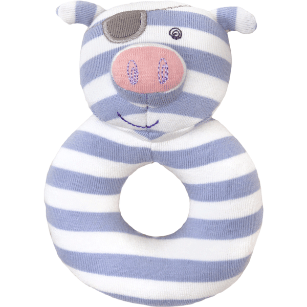 Apple Park Baby Rattle Pirate Pig Organic Patterned Rattle (4 Designs)
