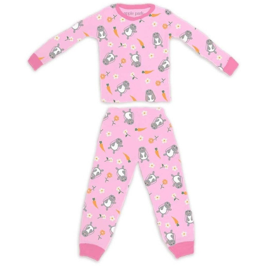 Apple Park Pajama Bunny / 6 - 12 Months Apple Park 100% Organic Cotton Pajamas (6 - 12 months) Bunny