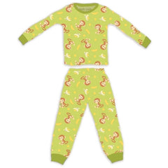 Apple Park Pajama Monkey / 6 - 12 Months Apple Park 100% Organic Cotton Pajamas (6 - 12 months) Monkey