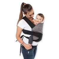 Baby Hawk by Moby baby carrier Baby Hawk by Moby Met Tai Baby Carrier (8 to 40 lbs) Rustica