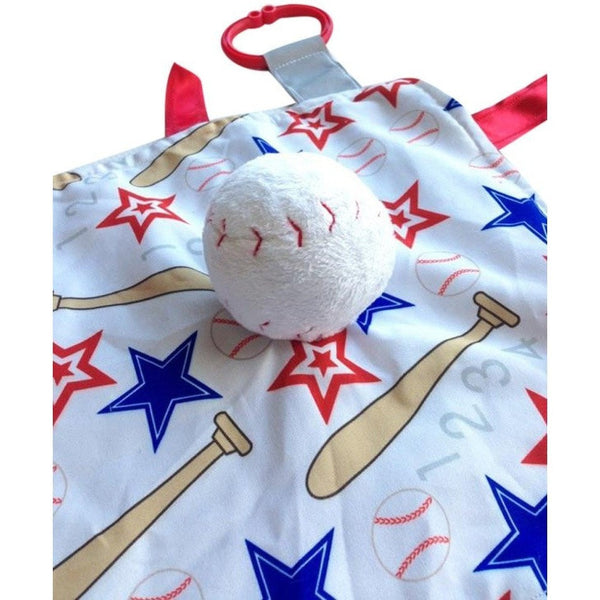 Baby Jack & Co lovey Baby Jack & Co Sensory Educational Baseball Lovey (0 - 12 Months)