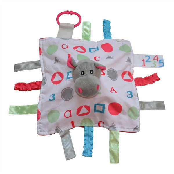 Baby Jack & Co lovey Hippo Baby Jack & Co Sensory Educational Hippo Lovey (0-12 Months)