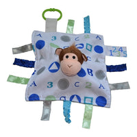 Baby Jack & Co lovey Monkey Baby Jack & Co Sensory Educational Monkey Lovey (0 - 12 Months)
