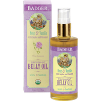 Badger Balms Pregnancy Badger Balm - Organic Pregnant Belly Oil