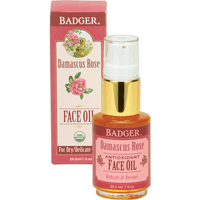 Badger Balms Skin Care Badger Balm - Damascus Rose Face Oil for Dry & Delicate Skin