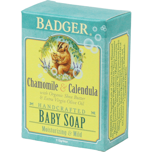 Badger Soap Badger - Baby Soap with Chamomile & Calendula 112g