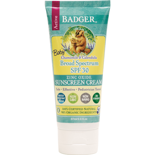 Badger - SPF 30 Baby Sunscreen CREAM 87ml