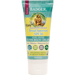 Badger sun protection Badger - SPF 30 Baby Sunscreen CREAM 87ml