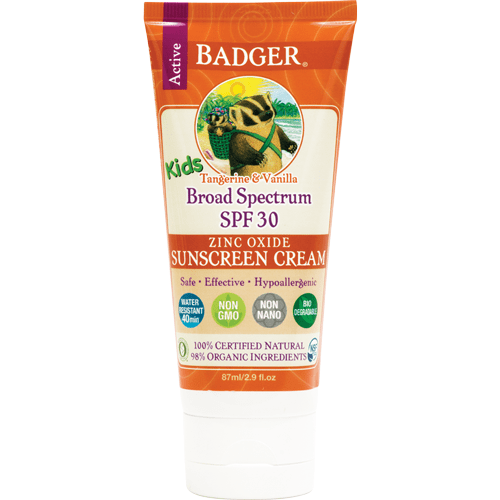Badger sun protection Badger - SPF 30 Kids Sunscreen CREAM 87ml
