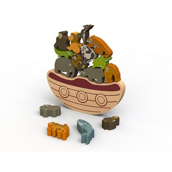 BeginAgain Balance Boat Endangered Animals Game (3+ years)