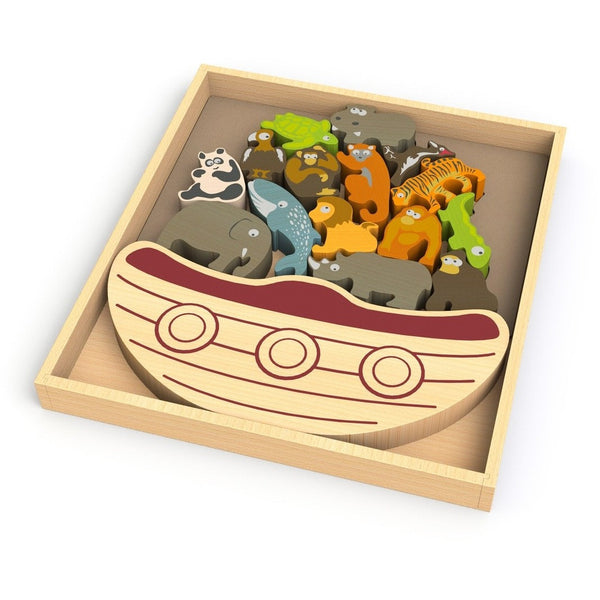 BeginAgain games BeginAgain Balance Boat Endangered Animals Game (3+ years)