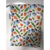 Bloom and Bliss Diaper Bag Jungle Fun Bloom & Bliss Reusable Wet Bag