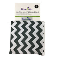 Bloom and Bliss Snack Bag Zig Zag Bloom & Bliss Reusable Snack Bag (4 Designs)
