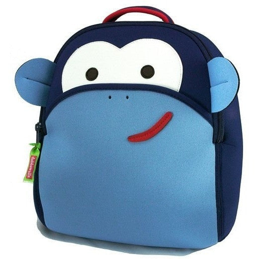 Dabbawalla Backpacks Blue Monkey Dabbawalla NonToxic Pre-School Backback (17 Designs)