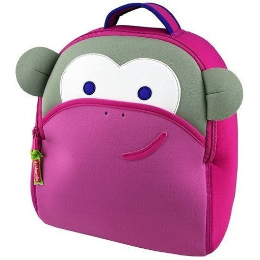 Dabbawalla Backpacks Blushing Monkey Dabbawalla NonToxic Pre-School Backback (17 Designs)