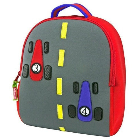 Dabbawalla Backpacks Fast Track Dabbawalla NonToxic Pre-School Backback (17 Designs)