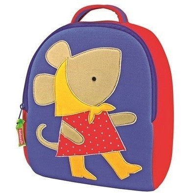 Dabbawalla Backpacks Mouse Dabbawalla NonToxic Pre-School Backback (17 Designs)