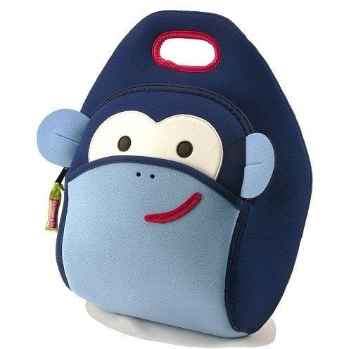 Dabbawalla Lunch Bag Blue Monkey Dabbawalla NonToxic Lunch Bag (18 Designs)