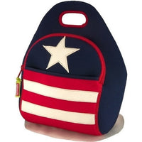Dabbawalla Lunch Bag Stars and Stripes Dabbawalla NonToxic Lunch Bag (18 Designs)