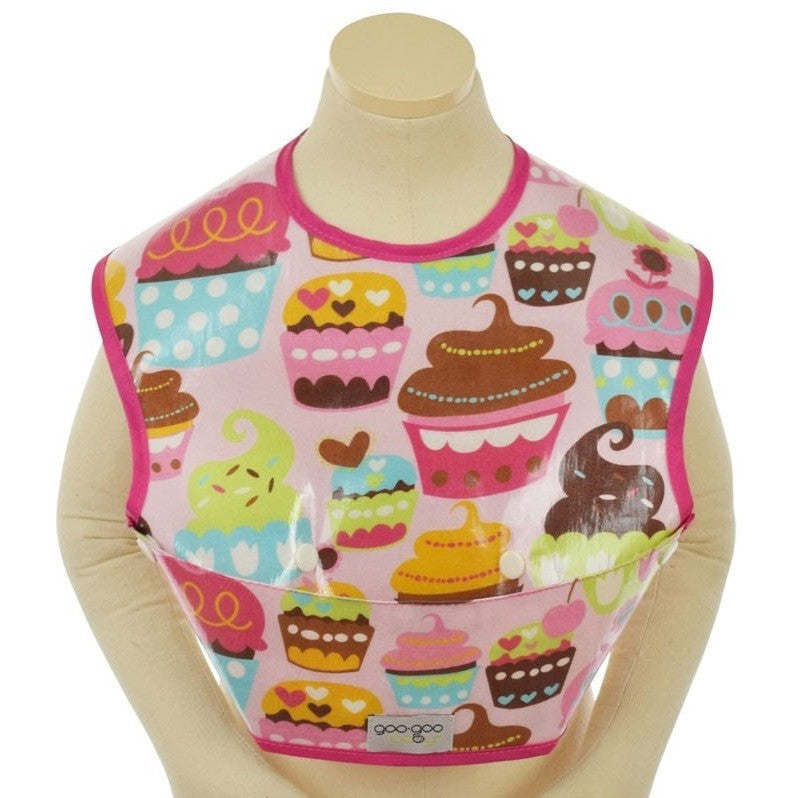 Goo-Goo Baby Bibs Goo-Goo Baby Perfect Pocket Bib (2 Sizes: 4 - 24 months / 2+ years & 4 designs)