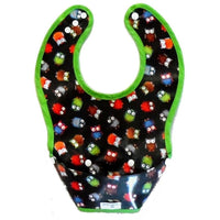 Goo-Goo Baby Bibs Small / Bright Owl Goo-Goo Baby Perfect Pocket Bib (2 Sizes: 4 - 24 months / 2+ years & 4 designs)