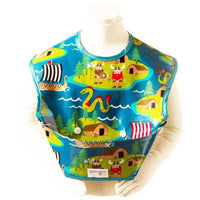 Goo-Goo Baby Bibs Small / Viking Goo-Goo Baby Perfect Pocket Bib (2 Sizes: 4 - 24 months / 2+ years & 4 designs)
