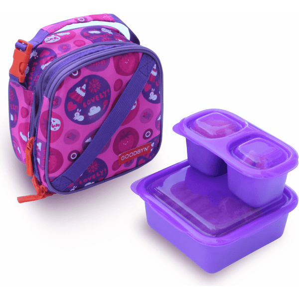 Goodbyn Lunch Bag Sweet Goodbyn Insulated Expandable Lunch Kit (4 Styles)