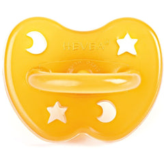 Hevea pacifier Hevea Star and Moon Design Natural Rubber Pacifier (3 Sizes)
