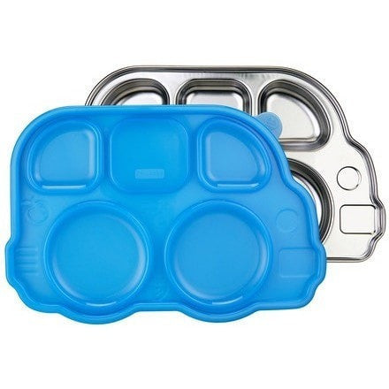 Innobaby lunch container Blue Innobaby Din Din Smart Divided Stainless Platter with Lid