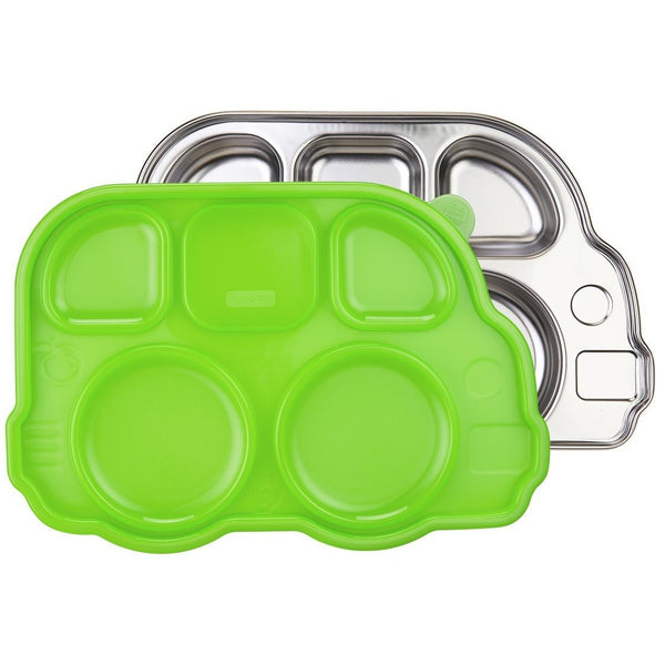 Innobaby lunch container Green Innobaby Din Din Smart Divided Stainless Platter with Lid