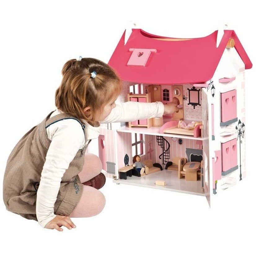 Janod Doll House Janod   Mademoiselle Wooden Doll House (3   8 Years)
