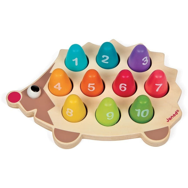Janod Learning Toys Janod I Wood Hedgehog (Ages 3 - 6 years)