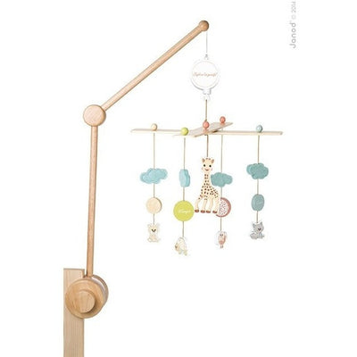 Janod Mobile Janod Sophie la Giraffe Wood Musical Mobile with Bracket (0-5 months)