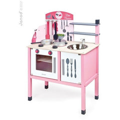 Janod Play Kitchen Janod - Mademoiselle Maxi Cooker Wooden Play Kitchen (3 - 8 Years)