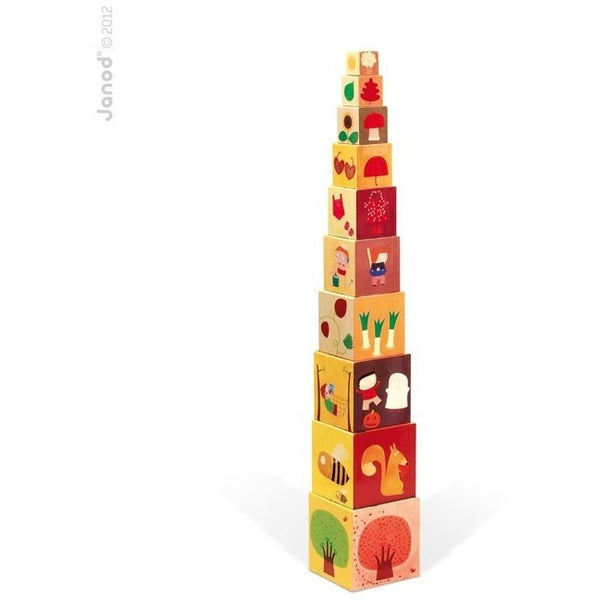 Janod Toys Janod 4 Season Stacking Pyramid (12 to 36 months)