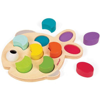 Janod Wood Toys Janod I Wood Fish (Ages 18+ months)