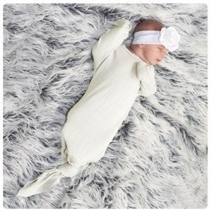 Mod Swad sleeper 14-19lbs / Bisque Mod Swad Organic Marino Wool Sleeper (3 sizes / 3 colours)