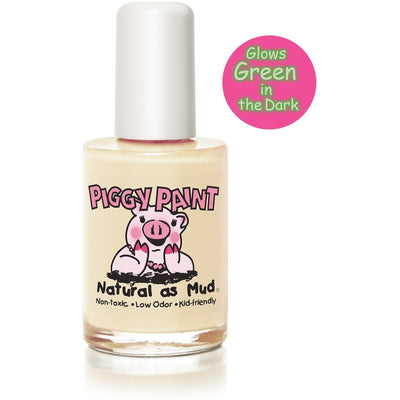 Piggy Paint Nail Polish Radioactive (Glows in the Dark!) Piggy Paint - Kids NonToxic Nail Polish (Multiple Colours)