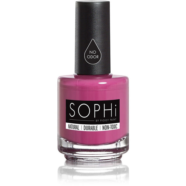 SOPHi by Piggy Paint Nail Polish PLUM-P Up the Volume SOPHi by Piggy Paint - Adult Natural Nail Polish (Multiple Colours)