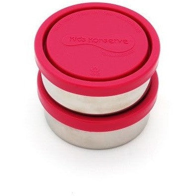 U Konserve food container Magenta U Konserve 5oz 150ml Stainless Steel Food Containers - Set of 2 (2 Colours)